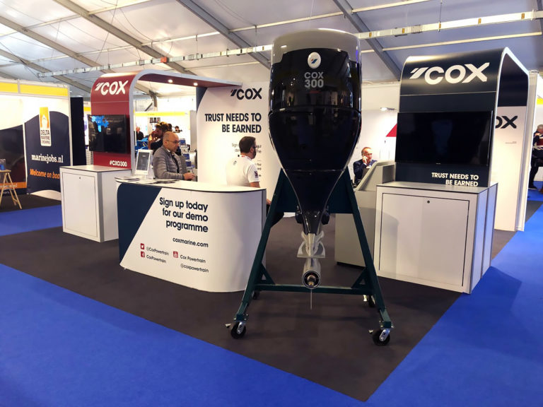 Cox Powertrain remporte le Seawork Innovation Award