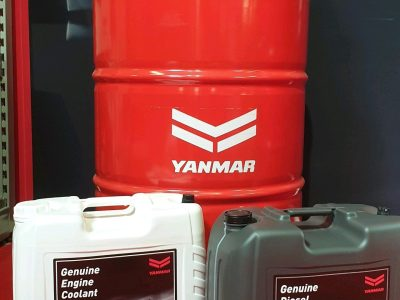 New Yanmar oil and coolant available!