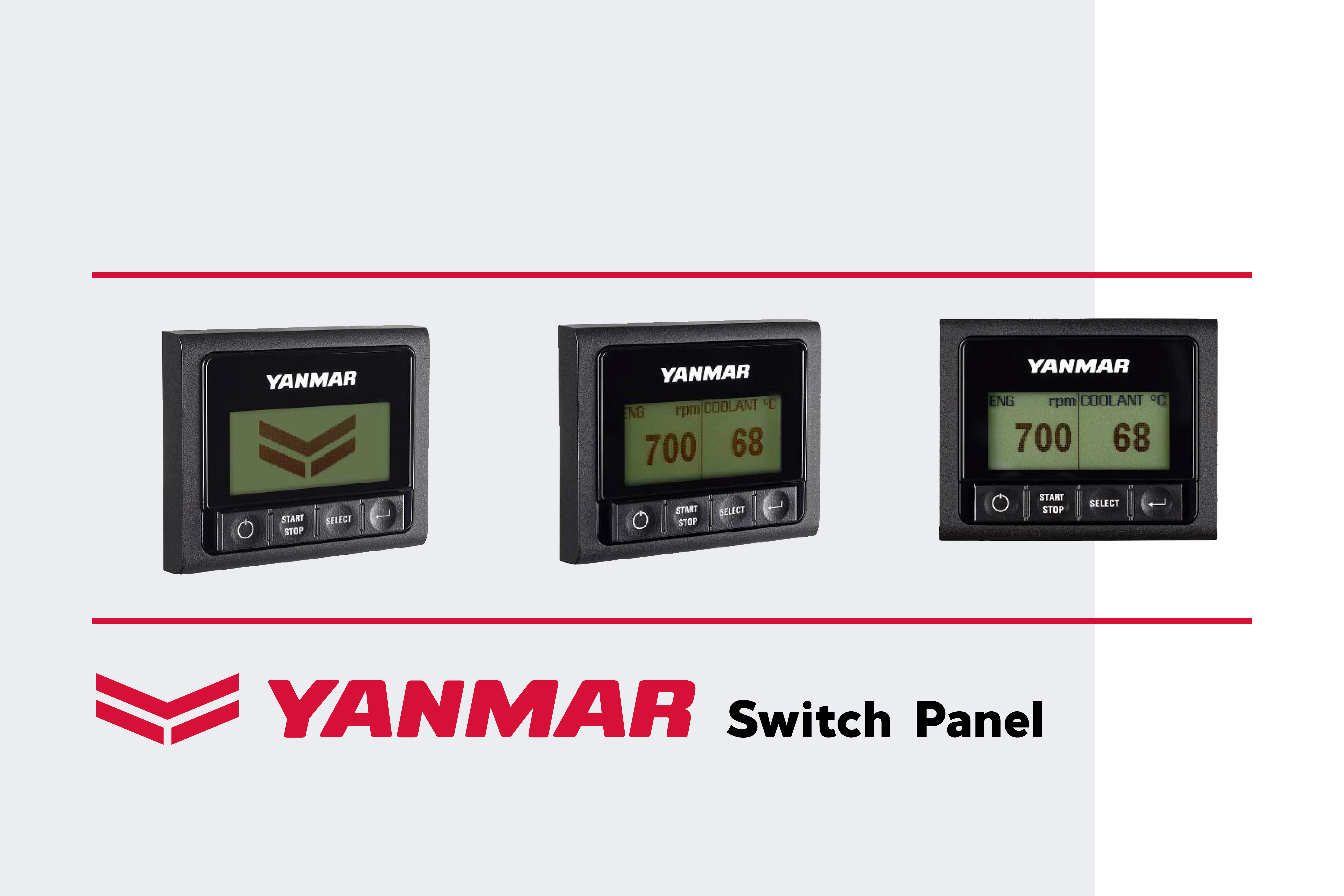 Yanmar introduce il nuovo Switch Panel Display