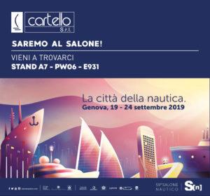 Read more about the article Cartello Srl al Salone Nautico di Genova: una presenza che non passerà inosservata