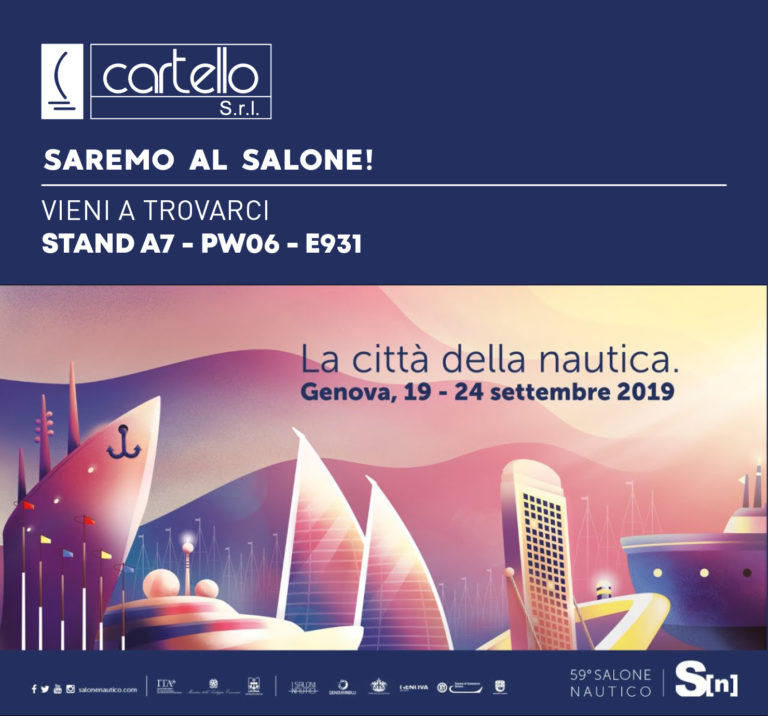 Cartello Srl al Salone Nautico di Genova: una presenza che non passerà inosservata