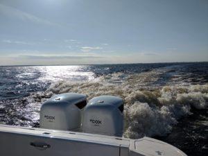 Aspettative superate durante il primo round di successo dei test della Marina americana dei fuoribordo diesel CXO300 Cox Powertrain