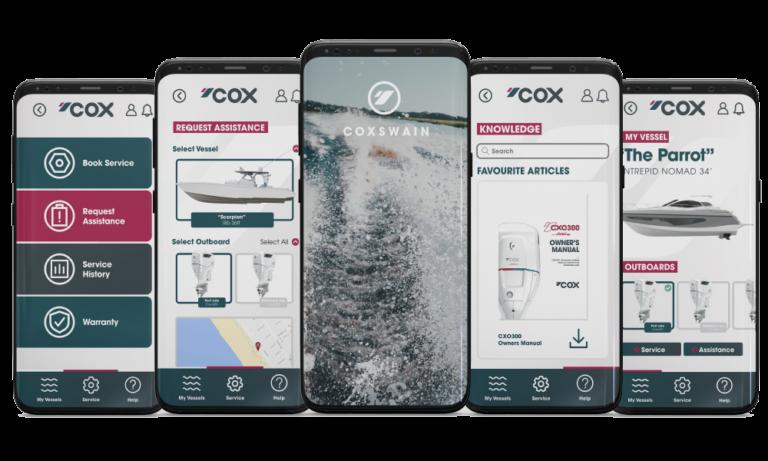 Read more about the article Cox Powertrain lancia un'app per la gestione dei motori