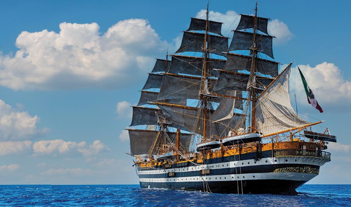 You are currently viewing Amerigo Vespucci, la nave più bella del mondo da 90 anni