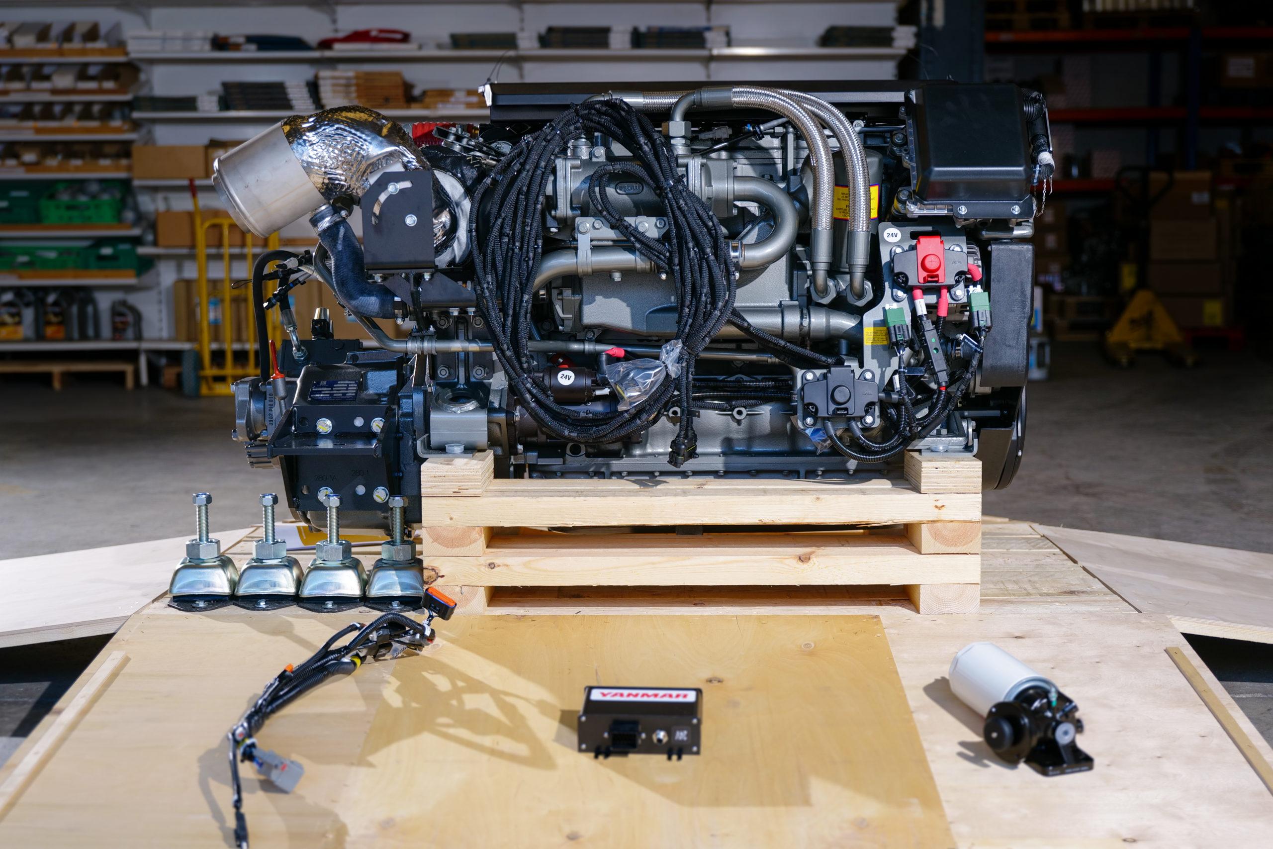 You are currently viewing YANMAR introduce la serie di motori common rail 6LF